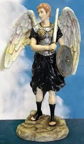 Archange St Sealtiel Statue H : 31,8 cm en Couleur Finition – Archange de  culte et Contemplation – One of The Seven Prizren: Amazon.fr: Cuisine &  Maison