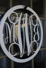 letters for front doorDoor Monogram  Metal Wooden Monogram Door Hanger Initial Snowman