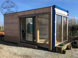 shipping container conversion exterior
