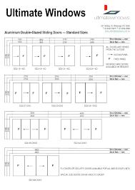 standard french door width patio measurements sliding windows