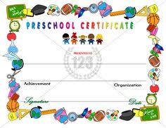 free preschool certificates 37 best preschool certificates images preschool