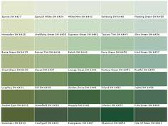 lowes interior paint colorslowes sage green color chart  Valspar Lowes  American Tradition