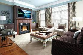 neutral sofa decorating ideas living room with tufted coffee table and dark brown sofa on neutral