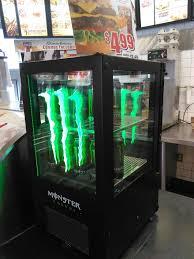 Monster Vending Machine Unique Carl's Jr Sells Monster Energy Drinks Yelp