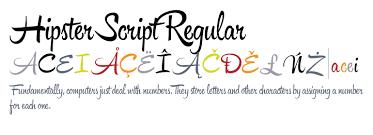 hipster script font free hipster script regular fonts com