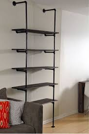 metal book shelves. Brilliant Metal DIY Bookshelf Next Weekends Project In Metal Book Shelves K