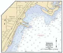 5 Keweenaw Bay Lake Superior Marine Chart Nautical Charts