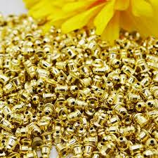 100pcs high quality earring back diy craft accessories making ear stoppers studs for jewelry findings components m