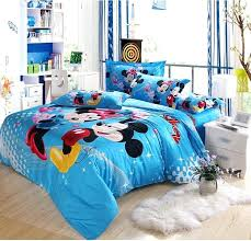 mickey minnie bedding sets kids bedroom girl with mickey mouse comforter set reactive printing process painting