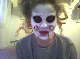 jigsaw s puppet face paint