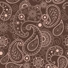Henna Pattern Enchanting Floral Mehendi Pattern Ornament Vector Illustration Hand Drawn Henna