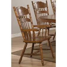 trieste windsor country style arm chairs set of 2 ofs