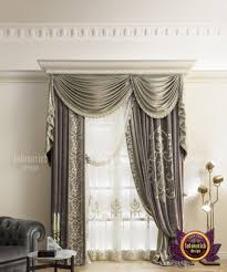 Window Curtain Design Images Intricate Curtain Design For Huge Homes