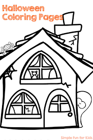 37 Halloween Kids Coloring Pages Spider Coloring Sheet Free