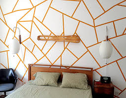 easy diy projects home improvement. view in gallery diy geometric wall easy diy projects home improvement