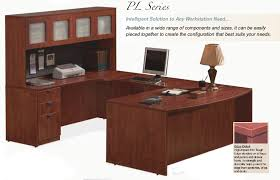 shaped office desk. Beautiful U Shaped Office Desk With Hutch Contemporary . A