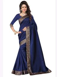 Blue Color Saree Blouse Designs Dark Blue Saree Blouse Designs Foto Blouse And Pocket
