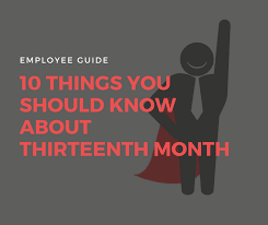 Getting Paid Monthly 10 Things You Should Know About 13th Month