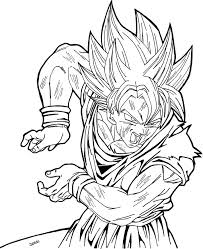 Small Picture Dragon ball z coloring pages super saiyan 2 ColoringStar