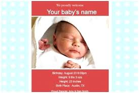 Sample Baby Announcement Baby Announcement Sample Birth Announcement Template Baycabling Free