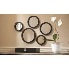 martha stewart living seneca 5 piece framed mirror set
