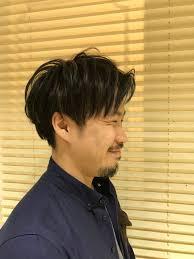 メンズメッシュ 中田翔さん