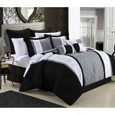 Black And White Bedding Sets Queen Fullscreen Download Pictures ... & Bedroom Bedding Sets Queen Quilt Covers Full Size Comforter Photo On  Excelent Black And White For ... Adamdwight.com