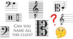 Learn the notes of the cool bass clef by watching this cool animated video. Can You Name All These Musical Clefs Classic Fm