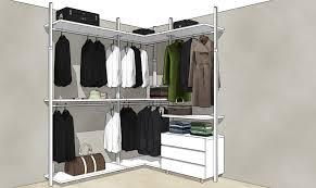 Armadio Angolare Misure : Cabina armadio angolare consigli per ogni camera extendo