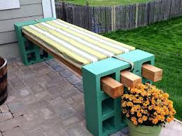 Patio Ideas Concrete Block Patio Furniture Cool Diy Patio Cinder