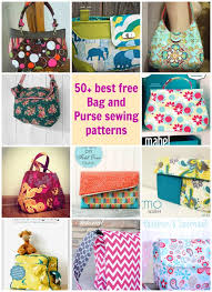 50 Favorite Best Free Purse Patterns | Purse, 50th and Patterns & 50 Favorite Best Free Purse Patterns Adamdwight.com