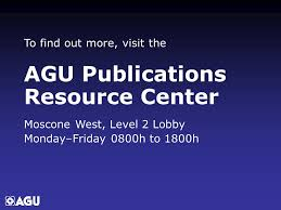 「AGU Publications」の画像検索結果
