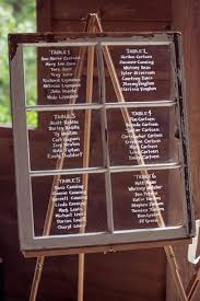 Write Guests Names On A Window Pane Seating Chart