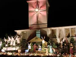 Christmas Lights In Olympia Washington Maytown Assembly Of God