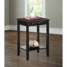Dining Room Side Tables Linon Newton 1 Drawer Side Table Nightstand By Linon Products