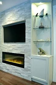 built in electric fireplace insert ins custom tv stand b