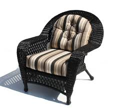 image black wicker outdoor furniture. montauk outdoor wicker chair shown in black pin image furniture