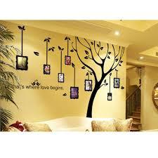 photo frame wall decal family tree stickers vinyl art wall