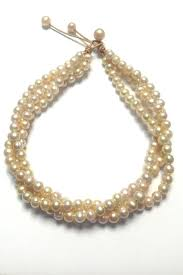 lily chartier pearls pink pearl necklace front cropped image