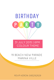 Birthday Invitation Party 10 Creative Birthday Invitation Card Design Tips Templates