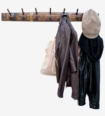 Coat Rack Hanging Wine Barrel Stave Coat Rack Home Decor Lighting O'Floinn Decor 62