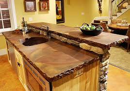 concrete countertops are in but they don t have to break the bank