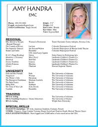 Acting Resume Template Download Acting Resume Template Is Very Useful For You Who Are Now