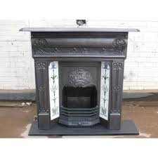 how to re a cast iron antique fireplace