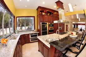 Enchanting Kitchen Cabinet Color With White Tile Floor Lahuhomecom