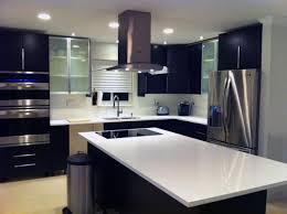 kitchen modern granite. Modern Design Italian Inspired Kitchen Using Ikea Cabinetry Ideas Cabinerty That Has Granite Floor And Also White I