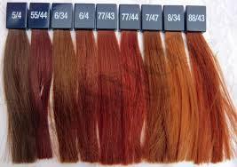 Wella Auburn Color Chart Five Benefits Of Wella Auburn Color Chart That May Change