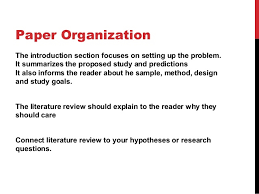 Apa style literature review sample paper   Best and Reasonably     monthly bills template