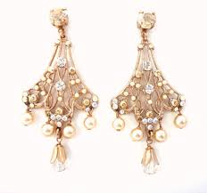 really beautiful showpiece earrings in a gorgeous ornate filigree settings for a romantic vintage style that will look stunning on the bride or for any
