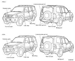 1995 mitsubishi pajero wiring diagram wirdig 1995 mitsubishi pajero wiring diagram